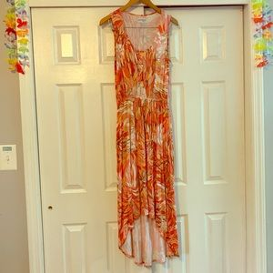 Kate & Mallory Floral Maxi Dress Size Small